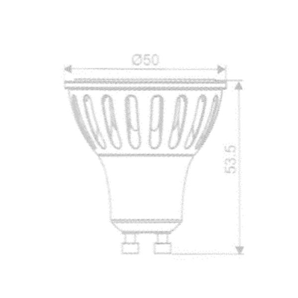 Lâmpada GU10 Dimmer