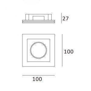 Quadrado 100x100
