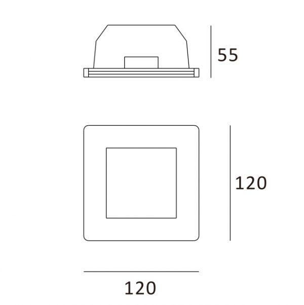 Quadrado 120x120
