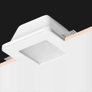 Quadrado c/ vidro difusor 120x120
