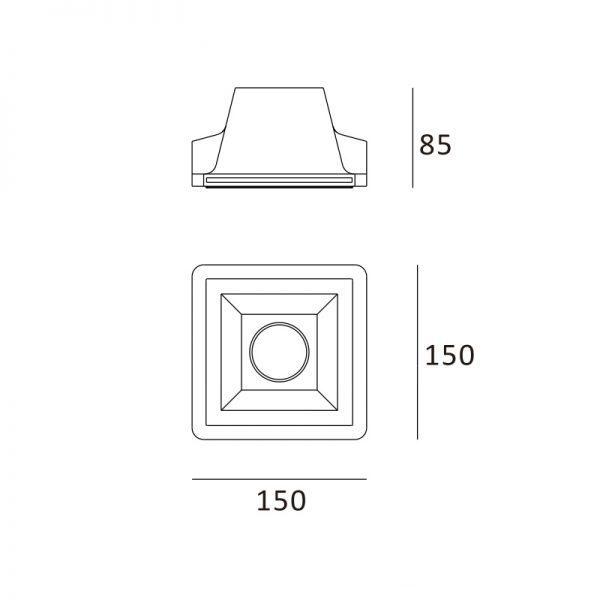 Quadrado 150x150